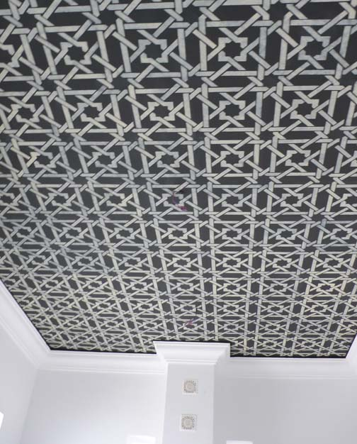 Inlay ceiling