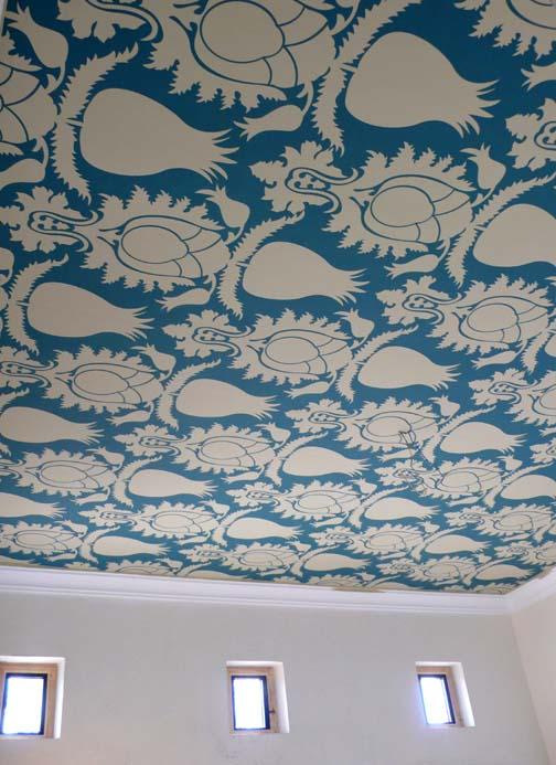 Suzani ceiling