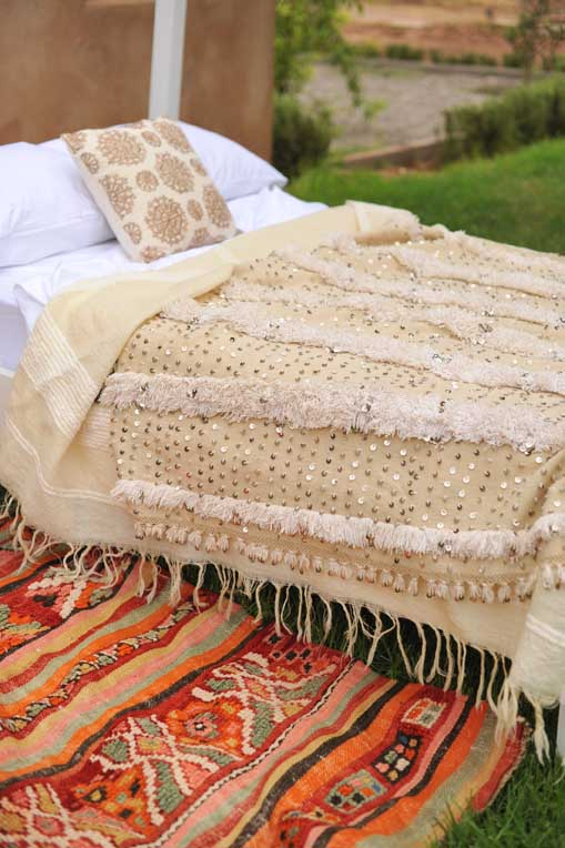 Moroccan Interior Design Moroccan Wedding Blankets At
