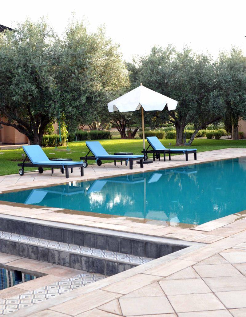 Peacock Pavilions pool