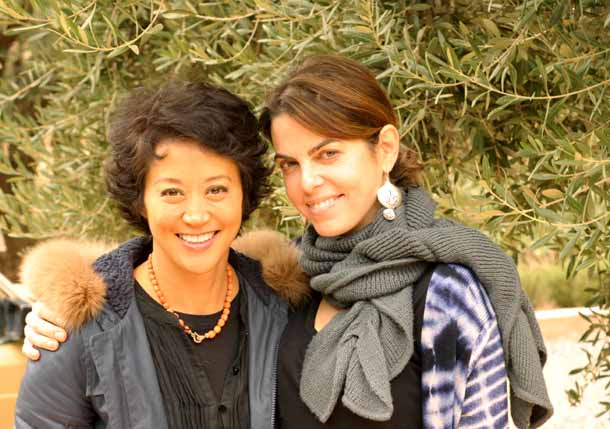 Anita Sarisidi Elle Decor & Maryam Montague (2)
