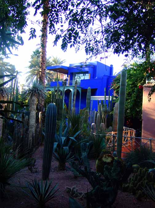 3 Yves Saint Laurent's house at the Majorelle garden, My Marrakesh blog