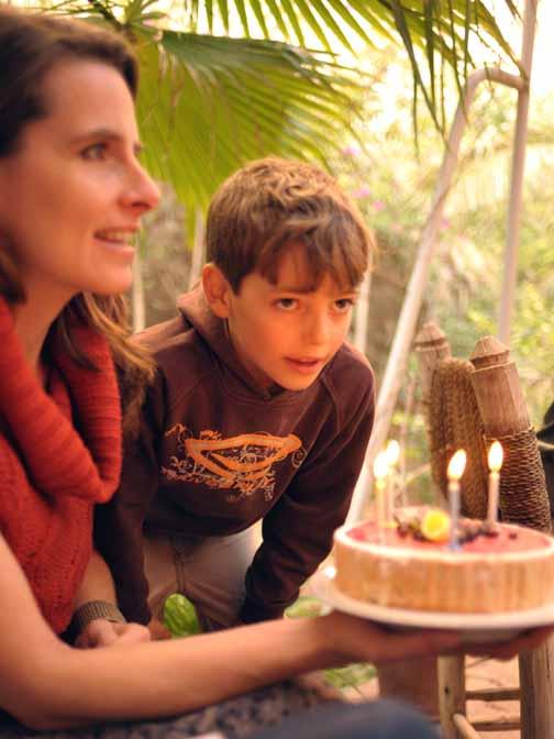 1 Julie Klear's birthday cake