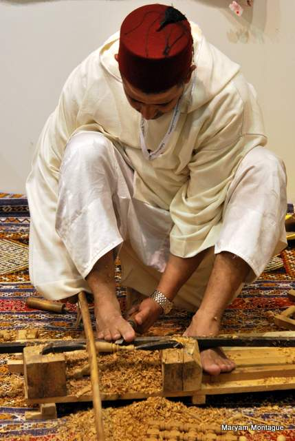 Master Moroccan craftsman