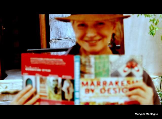 Martha Stewart with Marrakesh by Design book