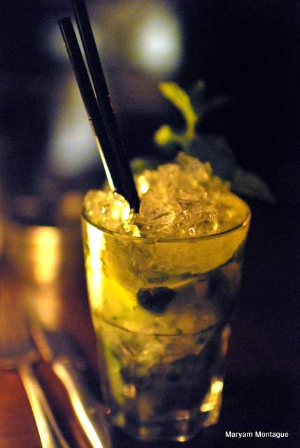 Mojito royal at the Loft