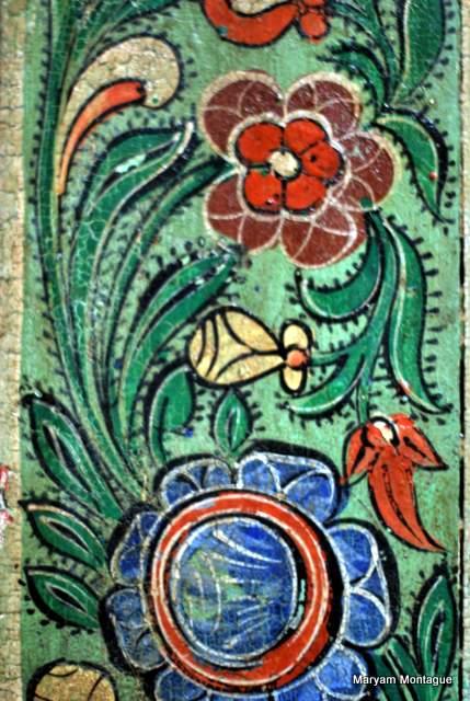 Fez flower pattern