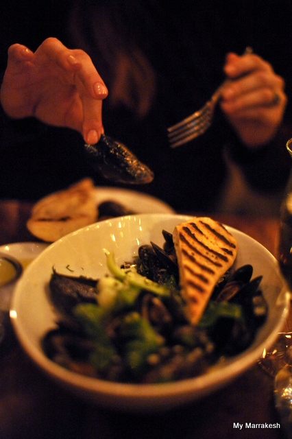 More mussels at August restaurant in Manhattan by My Marrakesh