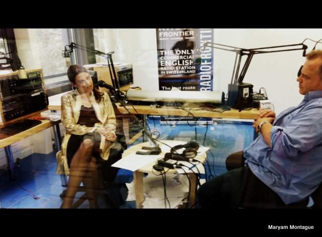 Maryam on radio