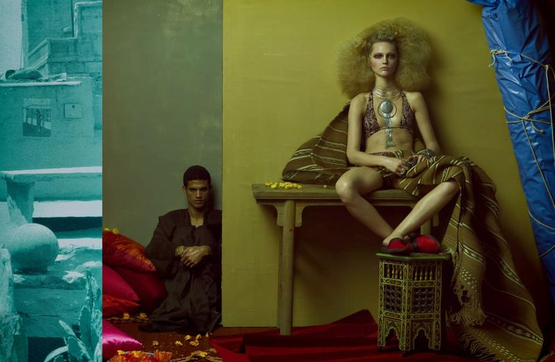 My Marrakesh blog Vogue Italia shoot 4