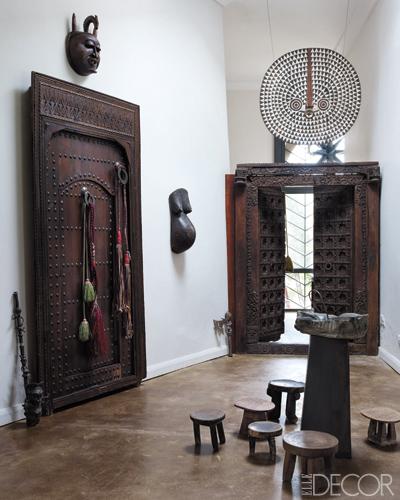 Doors at Peacock Pavilions Elle Decor