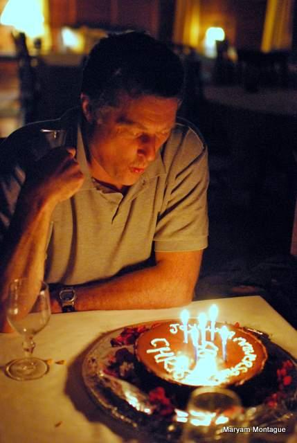 Chris candles big