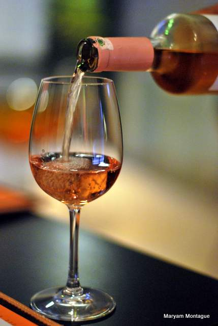 Wine poured at cheese me