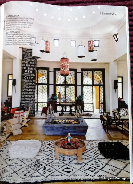 Peacock Pavilions in Living Etc, shot by Richard Powers 1