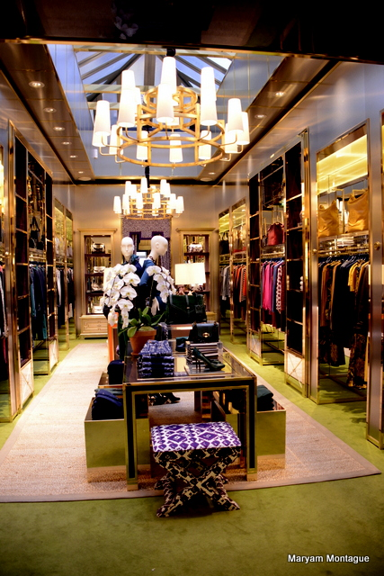Tory Burch store London My Marrakesh