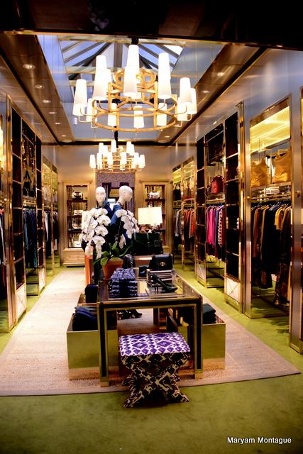 Tory Burch store London My Marrakesh