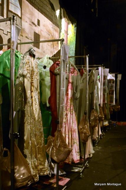 Maryam Montague backstage Caftan 2013-8