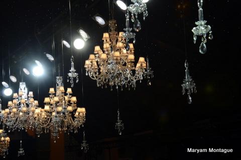 Maryam Montague backstage Caftan 2013-10