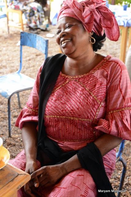 Malian portrait by Maryam Montague