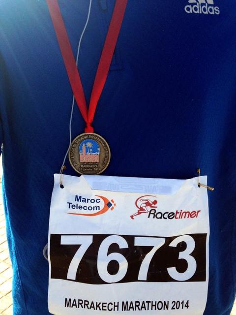 Marrakech Marathon Maryam Montague