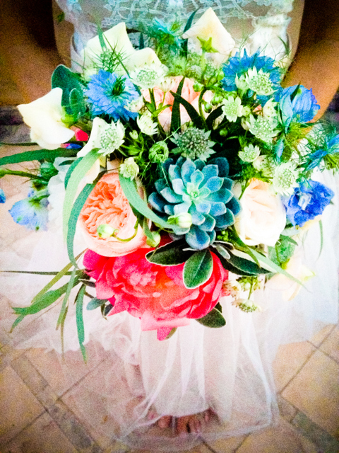 Peacock Pavilions bouquet